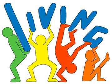 living la palestra logo